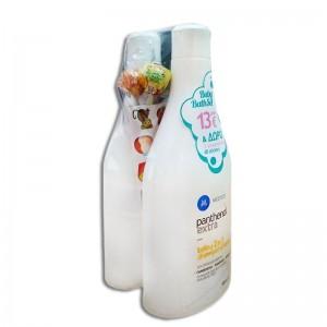 Panthenol Extra Baby Shampoo and Bath, 2x500 ml + ΔΩΡΟ 3 Γλειφιτζούρια + 48 Stickers