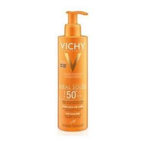 Vichy Ideal Soleil SPF50 Αντηλιακό Γαλάκτωμα για Πρόσωπο/Σώμα Κατά της Άμμου 200ml