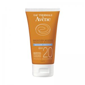 Avene Emulsion Dry Touch Αντηλιακή Κρέμα Προσώπου για Ευαίσθητο Κανονικό-Μικτό Δέρμα SPF20 50ml