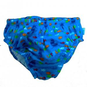 Fashy Little Stars Μαγιό - Πάνα Αγόρια Γαλάζιο - Ψαράκια