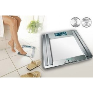 Medisana - PS400 Glass Fat Scale Ηλεκτρονική Ζυγαριά