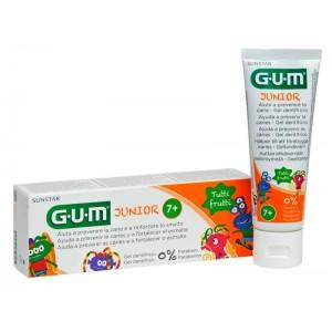 Gum Junior 7-12 Παιδική Οδοντόκρεμα Tutti Frutti 50ml