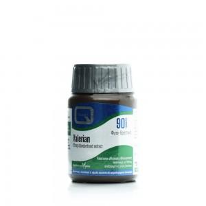 QUEST Valerian 83mg Extract Συμπλήρωμα διατροφής με ρίζα βαλεριάνας 90Tabs