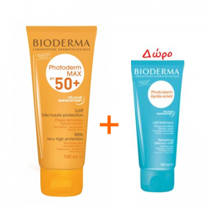 Bioderma Photoderm MAX LAIT SPF50+ 100ml & Δώρο Apres Soleil 100ml
