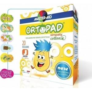 Ortopad Junior Simpaty .Οφθαλμικά αυτοκόλλητα για στραβισμό (έως 2 ετών)