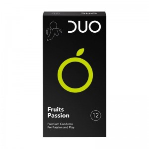 Duo Fruits Passion Προφυλακτικά με Γεύσεις 12 τεμ.