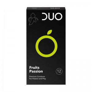Duo Fruits Passion Προφυλακτικά με Γεύσεις 12 τεμ.