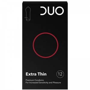 Duo Extra Thin Προφυλακτικά 12τμχ