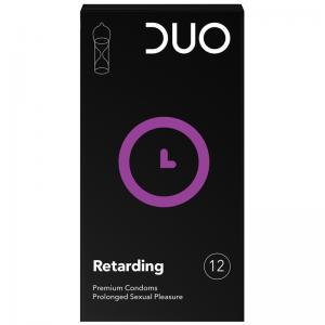 Duo Retarding Επιβραδυντικό Προφυλακτικό 12τμχ