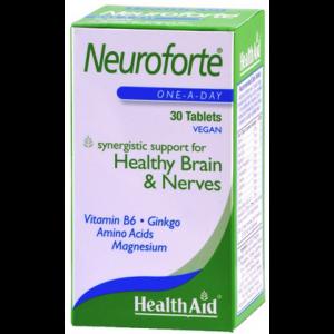 Health Aid Neuroforte Yγιές νευρικό σύστημα & εγκέφαλος, 30 Ταμπλέτες