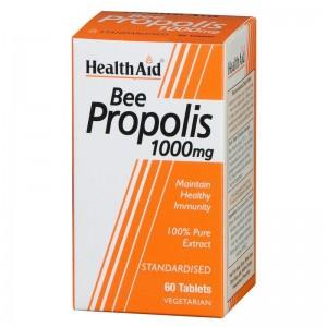 Health Aid Bee Propolis 1000mg, 60tab