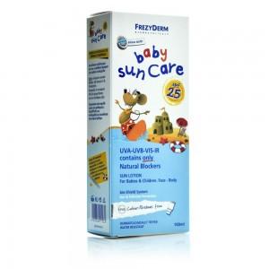 FrezyDerm Baby Sun Care SPF25 Βρεφικό Αντηλιακό Γαλάκτωμα 100ml