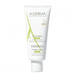 A-Derma Exomega Lait Emollient Fluid Γαλάκτωμα Προσώπου Σώματος για Ατοπικό και Πολύ Ξηρό Δέρμα, 200ml