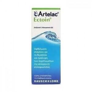 Bausch & Lomb Artelac Ectoin Οφθαλμικές Σταγόνες 10ml.