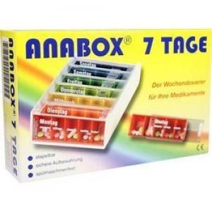 Anabox Εβδομαδιαία Θήκη Φαρμάκων, 7 ημερήσιες θήκες με 5 θέσεις