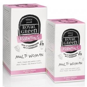 ROYAL GREEN - Multi Woman Γυναικεία Πολυβιταμίνη - 60tabs