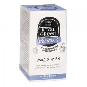 ROYAL GREEN - Multi Man Ανδρική Πολυβιταμίνη - 60caps