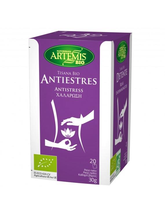 Artemis Tisana Bio  Antiestres  Χαλαρωση- relax  Μελισσοχορτο ,Τηλιο ,Λουιζα 20 φακ.