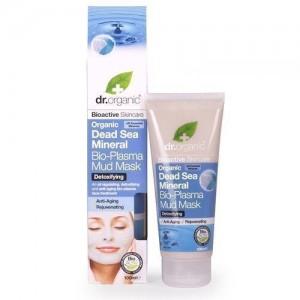 Dr.Organic Dead Sea Mineral Anti-Aging Bio-Μάσκα Προσώπου με Λάσπη από Βιολογικά Μεταλλικά Στοιχεία από τη Νεκρά Θάλασσα 100ml
