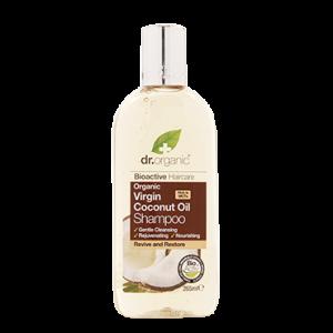 Dr Organic Virgin Coconut Oil Shampoo Σαμπουάν με Βιολογικό Έλαιο Καρύδας 265ml