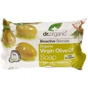 Dr. Organic - Organic Virgin Olive Oil Soap Ενυδατικό & Μαλακτικό Σαπούνι με Βιολογικό Έλαιο Ελιάς - 100g