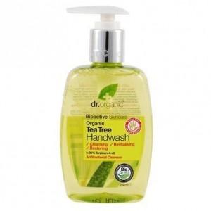 DR. ORGANIC Organic Tea Tree Hand Wash Κρεμοσάπουνο Χεριών με Βιολογικό Τεϊόδεντρο 250ml