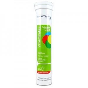 My Elements Vitaminall Αναβράζουσα Πολυβιταμίνη για Ενέργεια & Τόνωση, 20 tabs