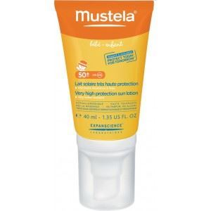 Mustela Very High Protection Face Sun Lotion SPF50+ Βρεφικό Αντηλιακό Γαλάκτωμα για το Πρόσωπο 40ml