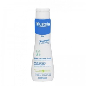 Mustela Multi-Sensory Bubble Bath Βρεφικό Αφρόλουτρο 200ml
