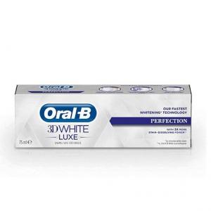 Oral-B 3D White Luxe Perfection 75ml Λευκαντική Οδοντόκρεμα Απαλή με το Σμάλτο, 75ml
