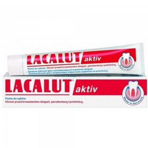 Lacalut Lacalut Aktiv Οδοντόκρεμα για Σύσφιξη & Ενίσχυση Ούλων 50ml