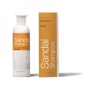 Evdermia Sandal Shampoo 250ml (Λιπαρα Μαλλια)