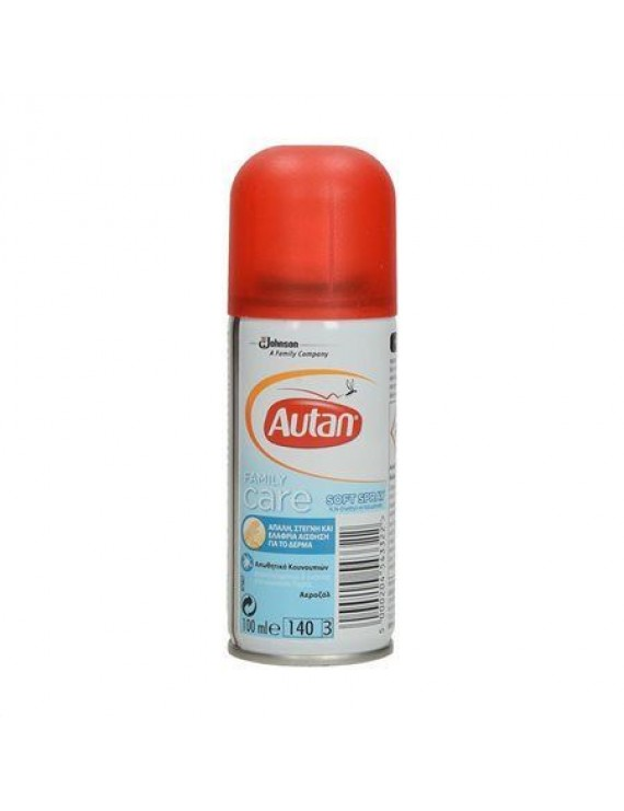 Autan Εντομοαπωθητικό Spray Family Care 100ml