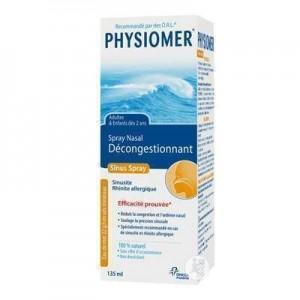 Physiomer Spray Υπέρτονο Θαλασσινό Νερό 135ml