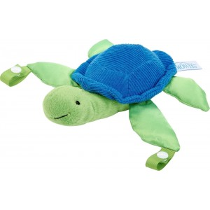 Dr. Brown's Timmy the Turtle Πιπίλα Όλο Σιλικόνης Σιέλ με Κουκλάκι Χελώνα, 1 τεμάχιο με Ανθεκτικό Κλείστρο που ασφαλίζει την Πιπίλα