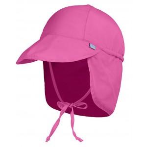 Sun Protection Καπέλο τύπου λεγεωνάριου με κορδονι για κοριτσάκι Rοζ XS(0-2 ΕΤΩΝ)