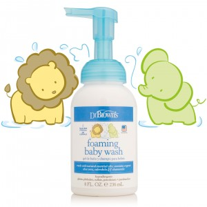 Dr Brown's - Αφρός βρεφικού καθαρισμού μαλλιών & σώματος 236ml (HG 007)