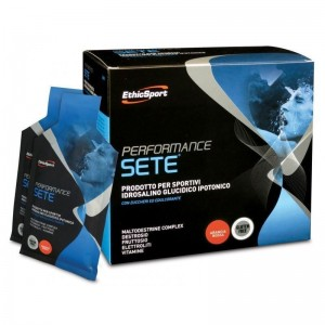EthicSport Performance Sete (πορτοκάλι) Βέλτιστη ενυδάτωση, υπέροχη γεύση και πεπτικότητα(14 x 22gr)