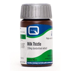 Quest Milk Thistle extract 150mg 60tabl