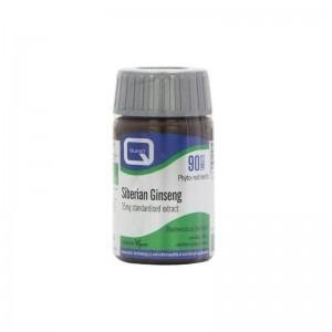 Quest Siberian Ginseng Extract Συμπλήρωμα Διατροφής Με Εκχύλισμα Σιβηριανού Τζίνσενγκ 35 mg 90 tabs