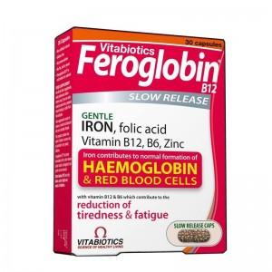 Vitabiotics Feroglobin 30 Κάψουλες Βραδείας Αποδέσμευσης