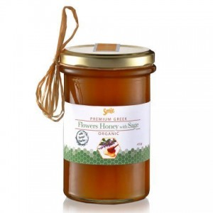 Am Health Smile Μέλι Βιολογικό Ανθέων με Φασκόμηλο 410 gr