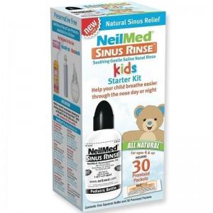 NeilMed Sinus Rince KIT για Παιδια συστημα ρινικων πλυσεων {1 συσκευη & 30 φακελακια}