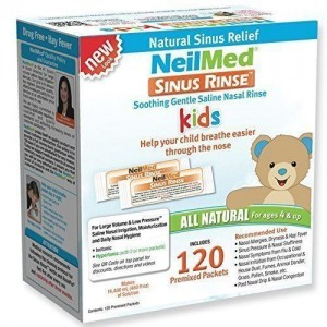 NeilMed Sinus Rinse 120 Sachets Pediatric Packets