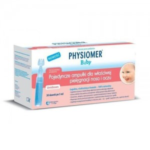 Physiomer baby αμπούλες οφθαλμική & ρινική χρήση για νεογνά και βρέφη (30amp x 5ml)