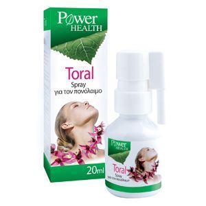 Power Health TORAL SPRAY - Πονόλαιμος, 20ml