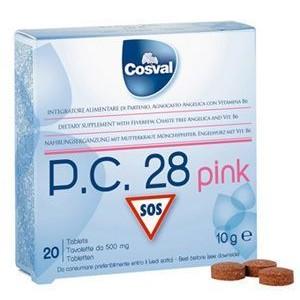 Cosval P.C 28 Pink (Πόνοι Περιόδου)20TABL