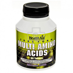 Health Aid Multi Amino Acids Συμπλήρωμα Διατροφής 60tabs.