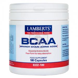 Lamberts  BCAA Branch Chain Amino Acids  180 capsules