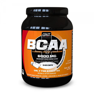 QNT - BCAA 6000mg 240caps (01-048-505)